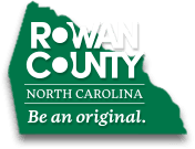 Click the Rowan County shape in green with white logo overlay to return to home