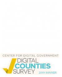 County Logo with Digital County Winner Logo